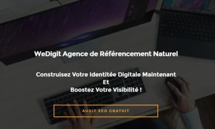 WeDigit : Agence de référencement naturel Paris