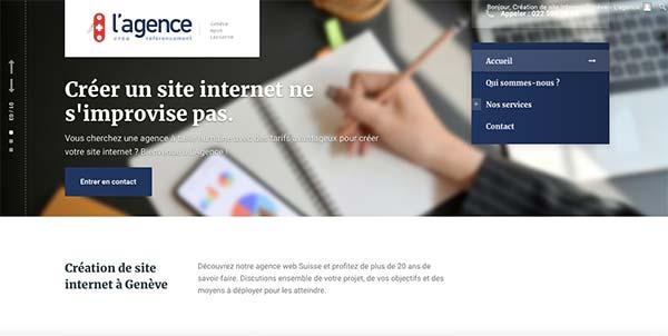 Création de site internet à Genève